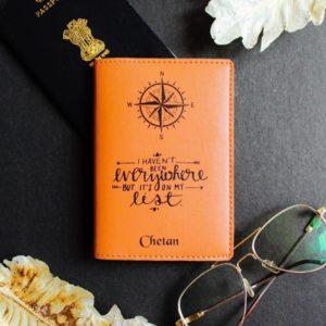 Printed passport covers