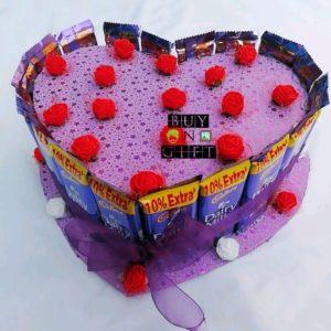 customized chocolate bouquet