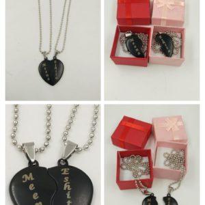 customized couple locket