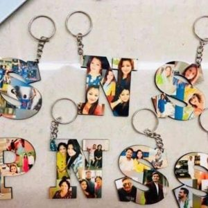 Alphabet Keychain with picture