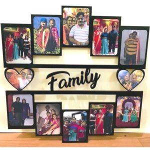 Family Wooden Frame