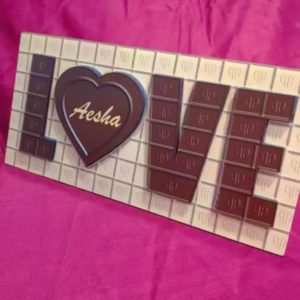 Chocolate Design Magnetic Board with photos