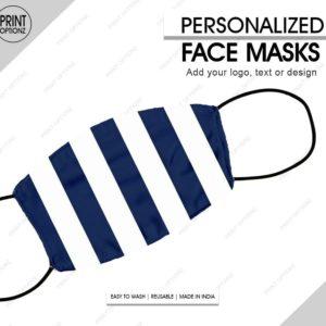 stripes mask