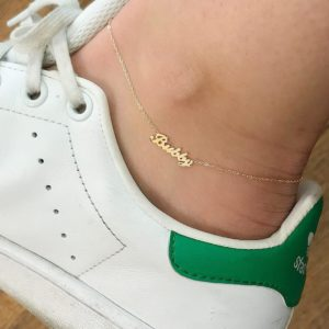customized anklet