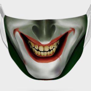 Joker laughing mask