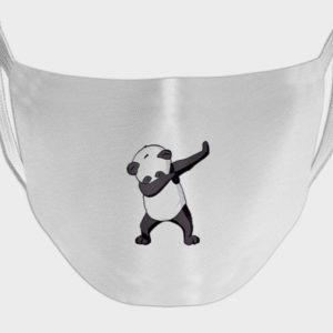 Panda Print Face Mask