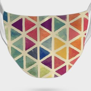 Colorful Print Face Mask