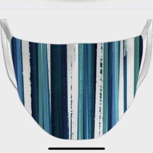 Stripes Design Face Mask