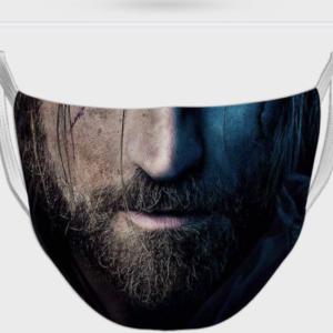 Man Face Printed Mask