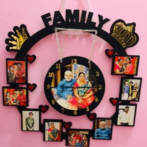 Customized Photo Wall Clock Special edition