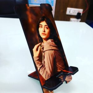 Mobile stand with photo