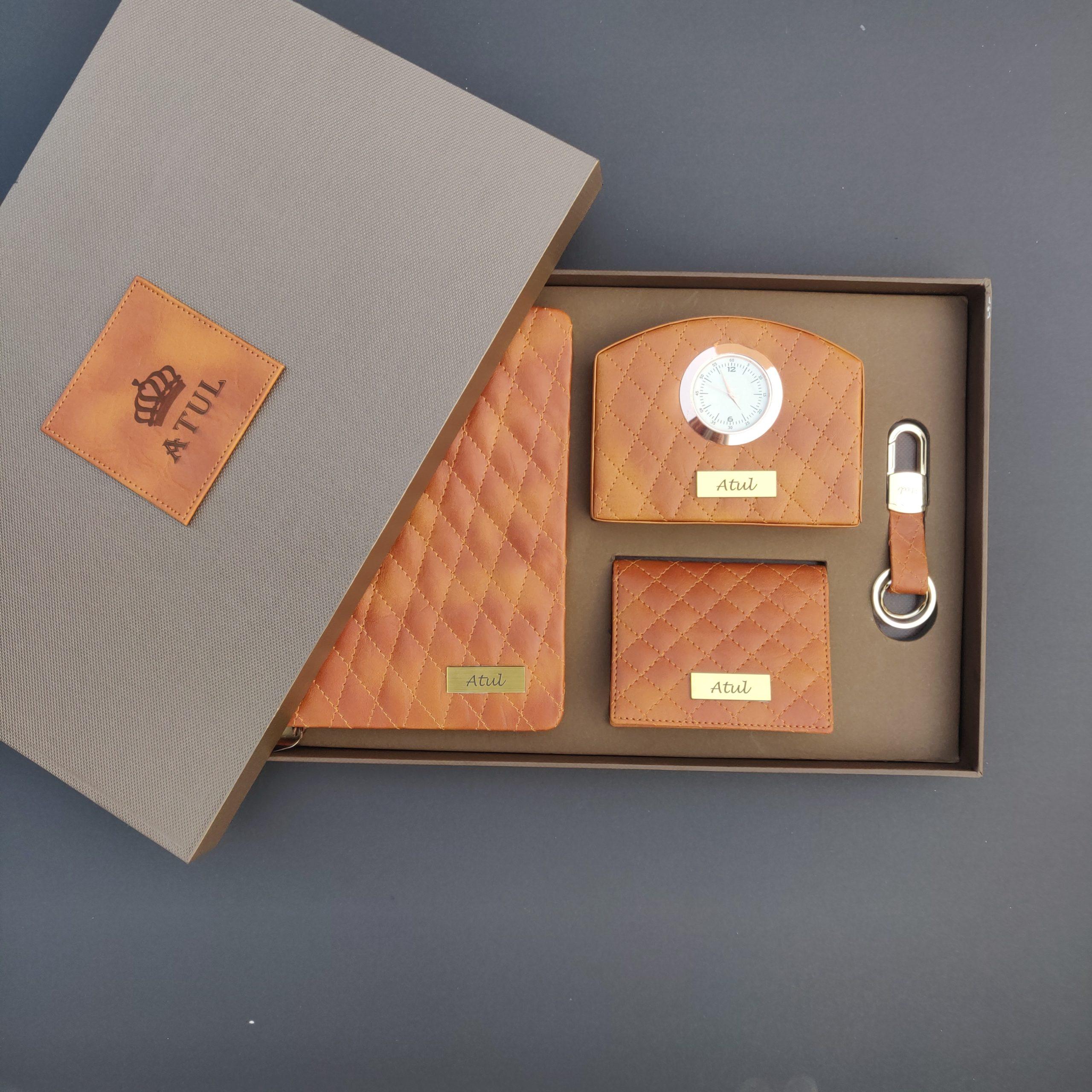 Leatherite Corporate Gift Set