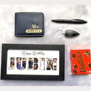 wallet combo with frame