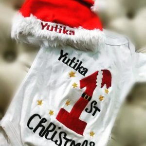 Customized Christmas Theme Rompers
