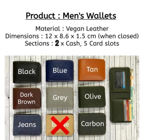 Wallet Colors