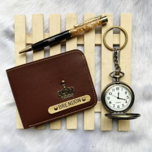 Wallet Combo With Pocket Watch