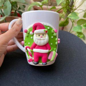 Customized Christmas Santa Mugs