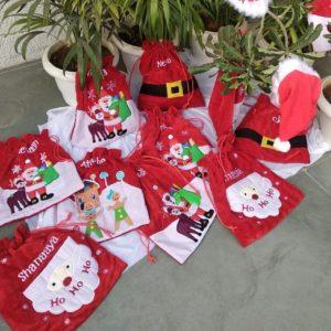 Customized Velvety Drawstring Bags