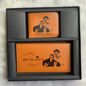 Sketch Wallet Combo for Couples