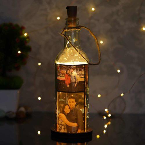 Personalised LED Bottle Lamp
