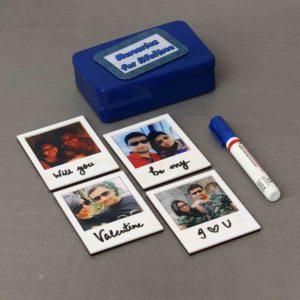 Personalized Writable Photo Fridge Magnets