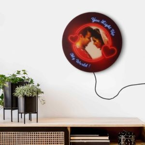 Photo lamp best gift for couples