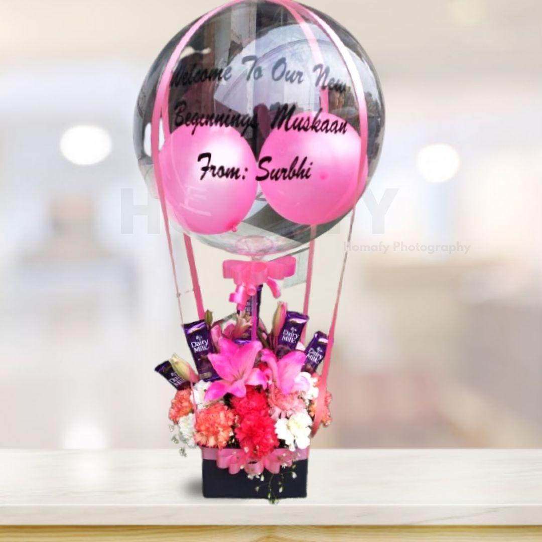 Dairy Milk Flower Bouquet