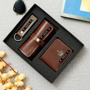Birthday hamper for men personalized men wallet