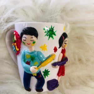 Personalized Holi Mug