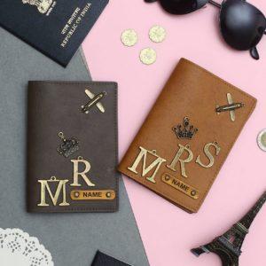 Couple Passport Cover - MR & MRS Edition