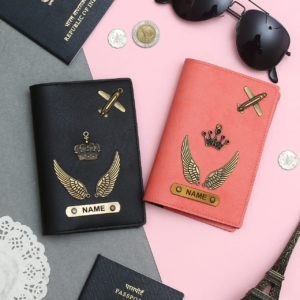 Couple Passport Cover - Wings Edition