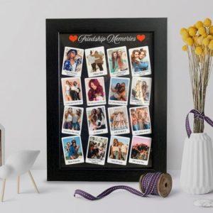 Birthday frame for best friend girl