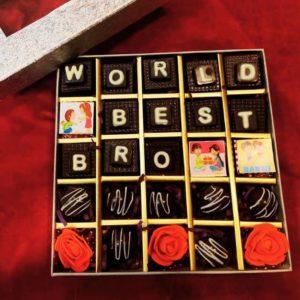 Customized rakhi chocolates
