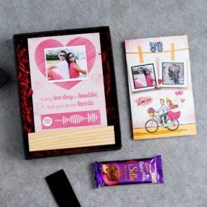 Spotify Mini Hamper For Cute Couples