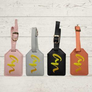 printed luggage tag