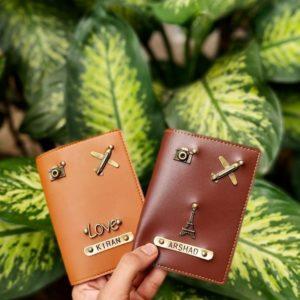 couple passport cover