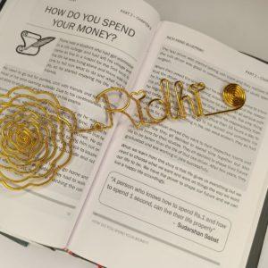 Customized Wire Bookmark